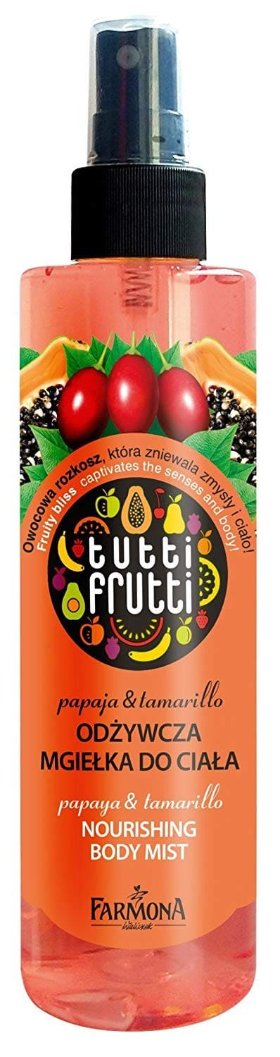 Farmona Balsam-spray pu corp Papaya & Tamarillo, 200ml.