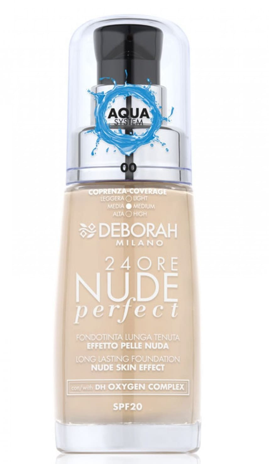 Fond de ten 24Ore Nude Perfect Aqua System SPF20