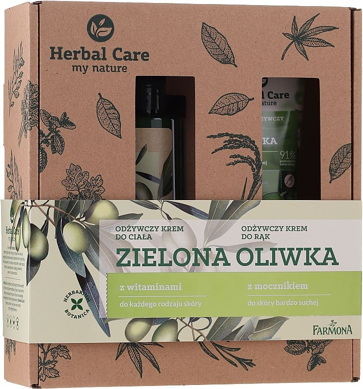 Set cadou HERBAL CARE Olive
